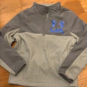 Boy's 1/4 zip fleece in YXS